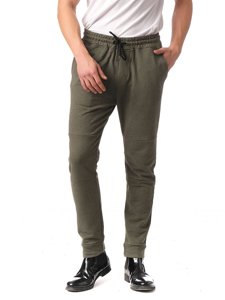 Ron Tomson Spodnie dresowe w kolorze khaki
