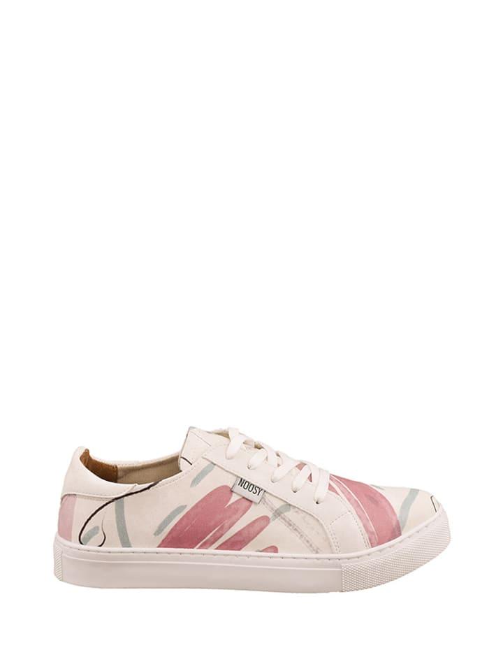 Noosy Sneakers wit/roze/meerkleurig