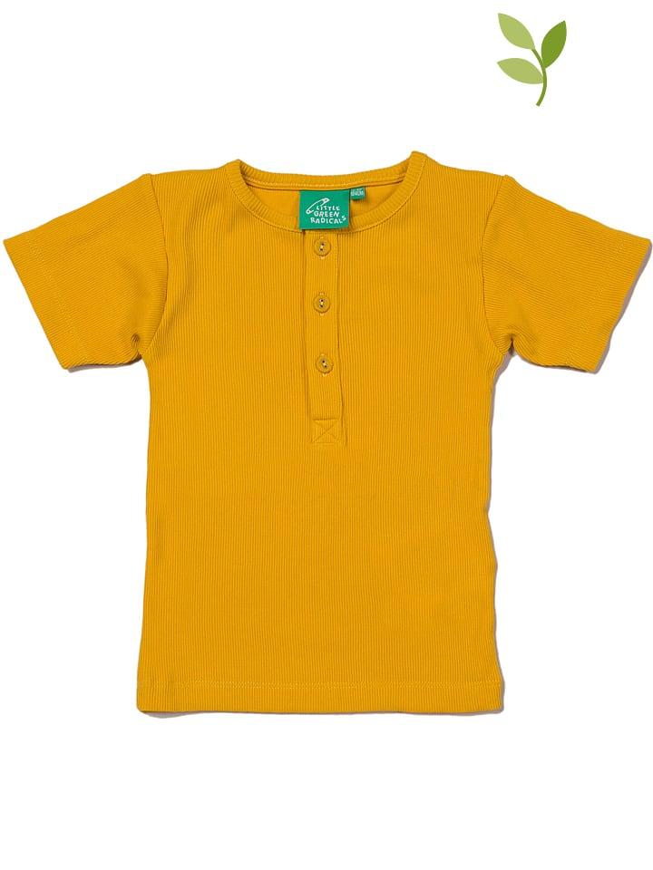 Little Green Radicals Koszulka w kolorze żółtym