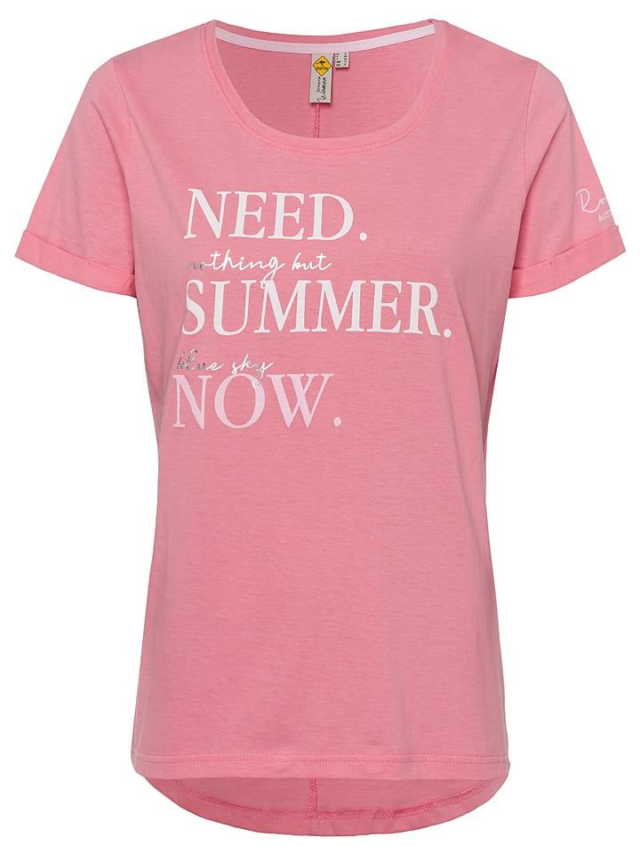 Roadsign Koszulka w kolorze jasnoróżowym
