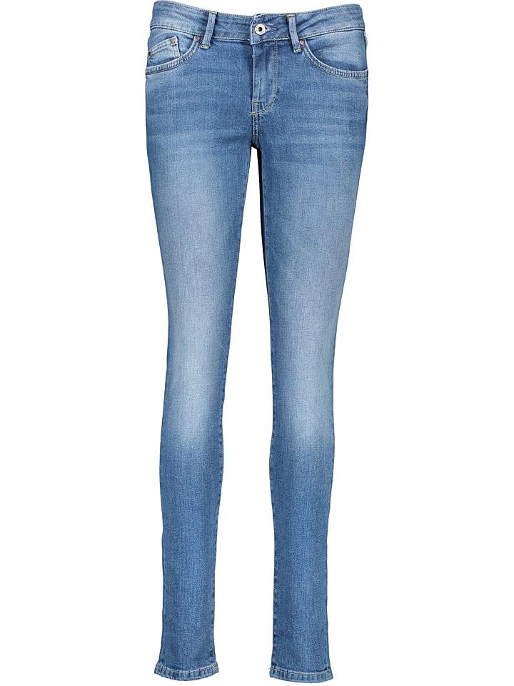 Pepe Jeans Spijkerbroek - skinny fit - blauw