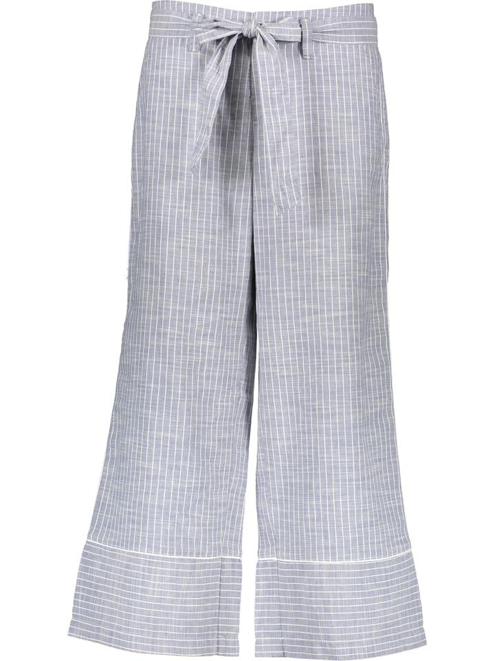 Stark Leinen-Culotte in Grau