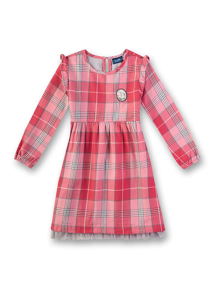Sanetta Kidswear Sukienka w kolorze czerwonym