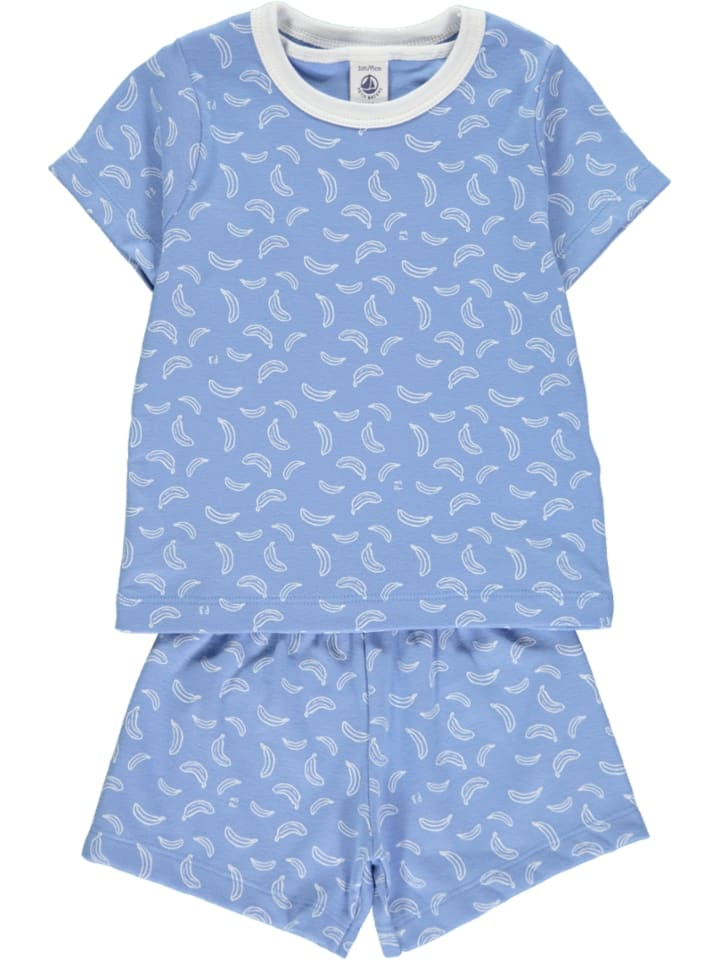 PETIT BATEAU Pyjama in Blau
