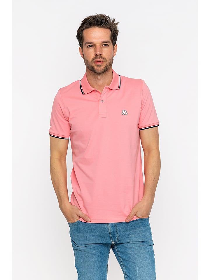 GIORGIO DI MARE Koszulka polo w kolorze jasnoróżowym