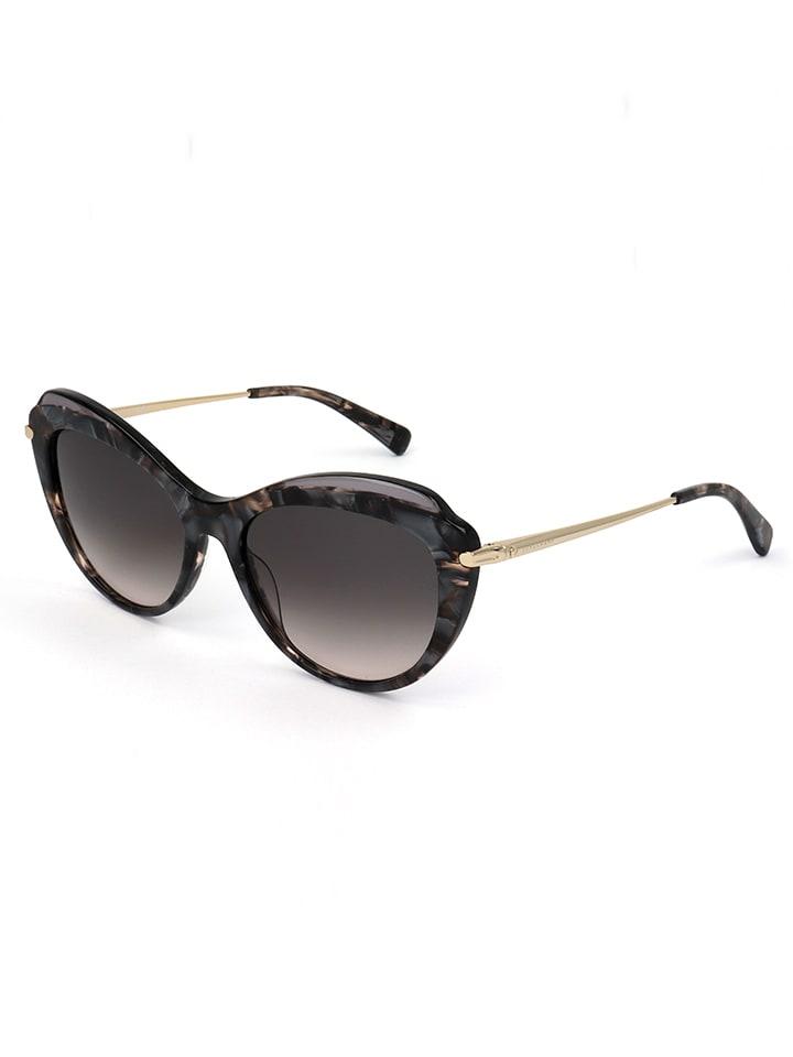 Longchamp Damen-Sonnenbrille in Grau-Gold/ Schwarz