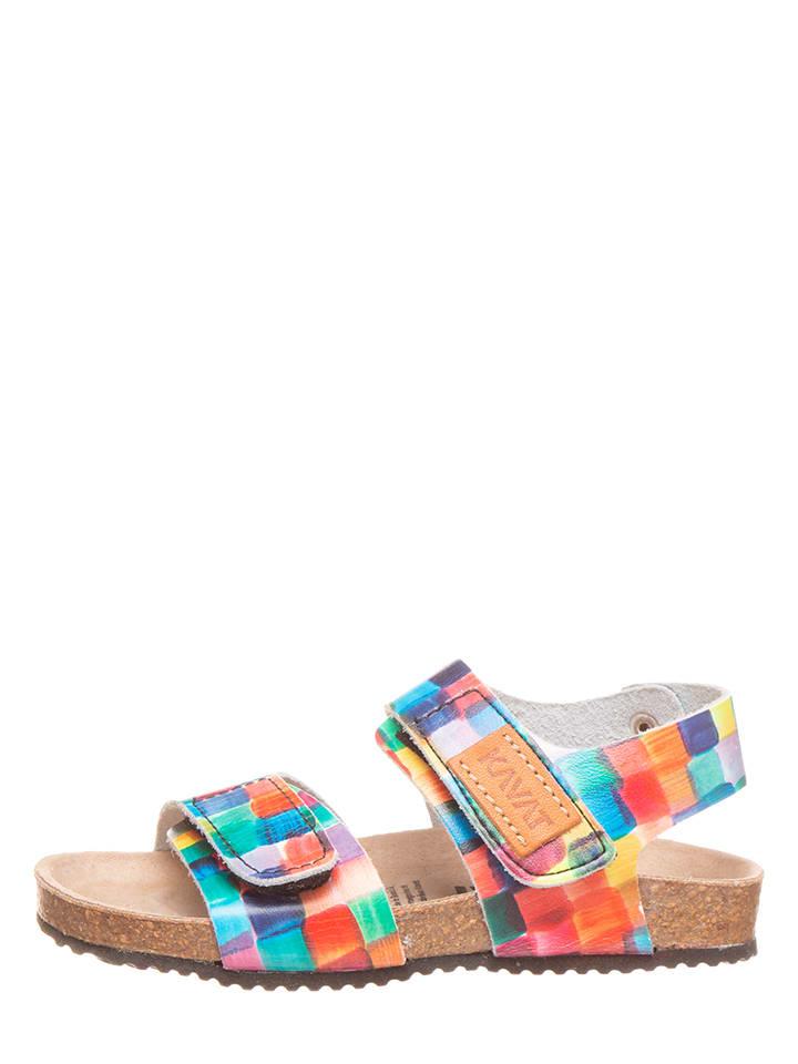 KAVAT Leren sandalen meerkleurig
