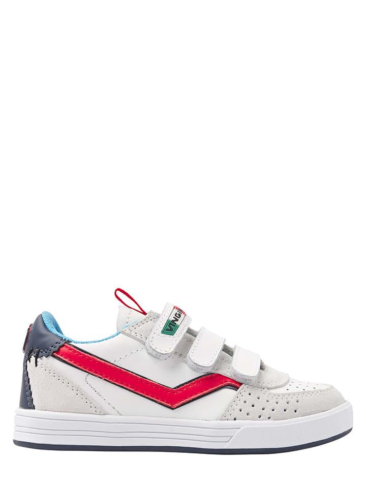 Vingino Skórzane sneakersy w kolorze białym