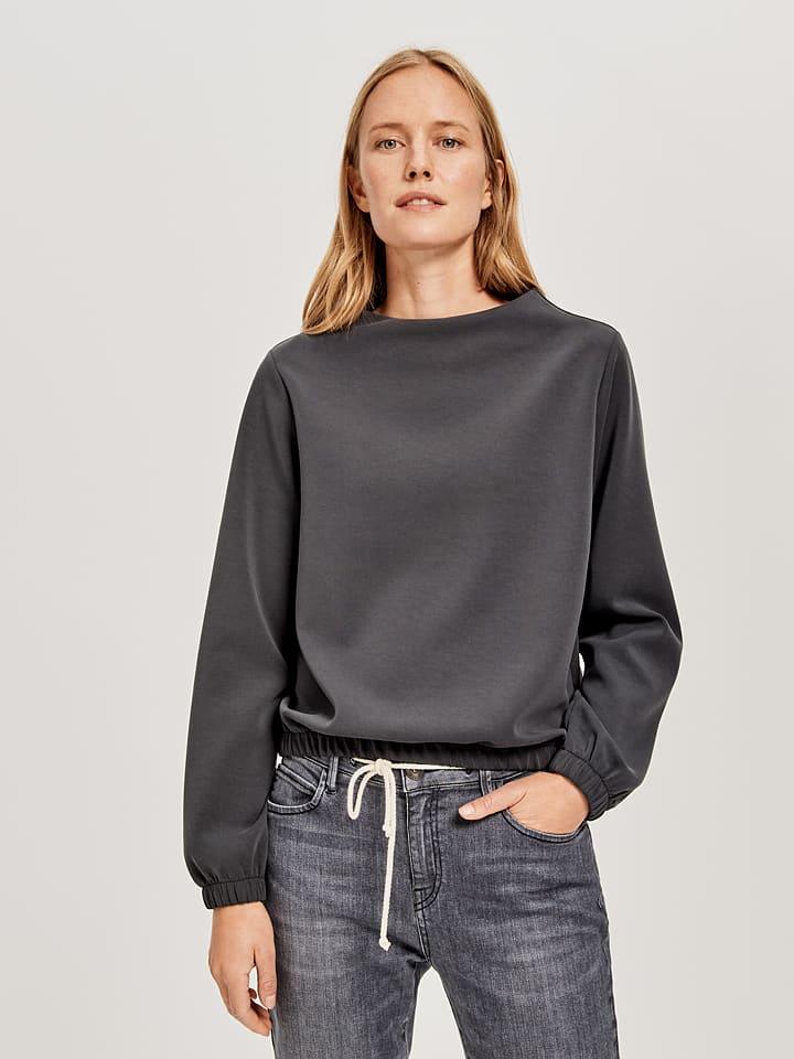 """OPUS Sweatshirt """"Gabbi"""" antraciet"""