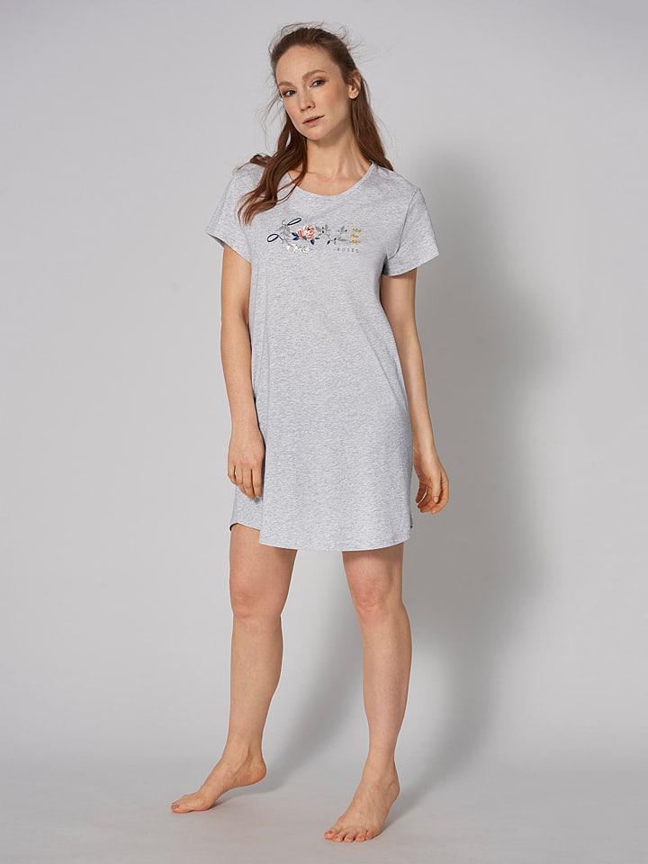 Triumph Koszula nocna w kolorze jasnoszarym