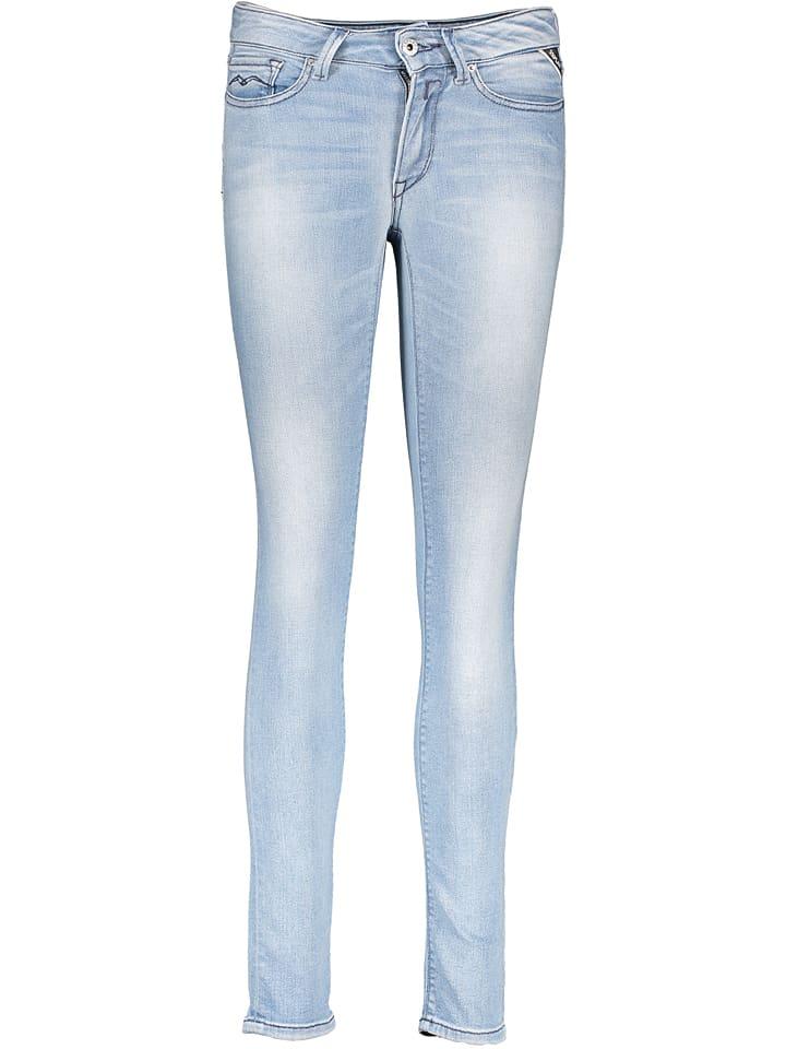 """Jeans """"New Luz"""" - Skinny fit - in Hellblau"""