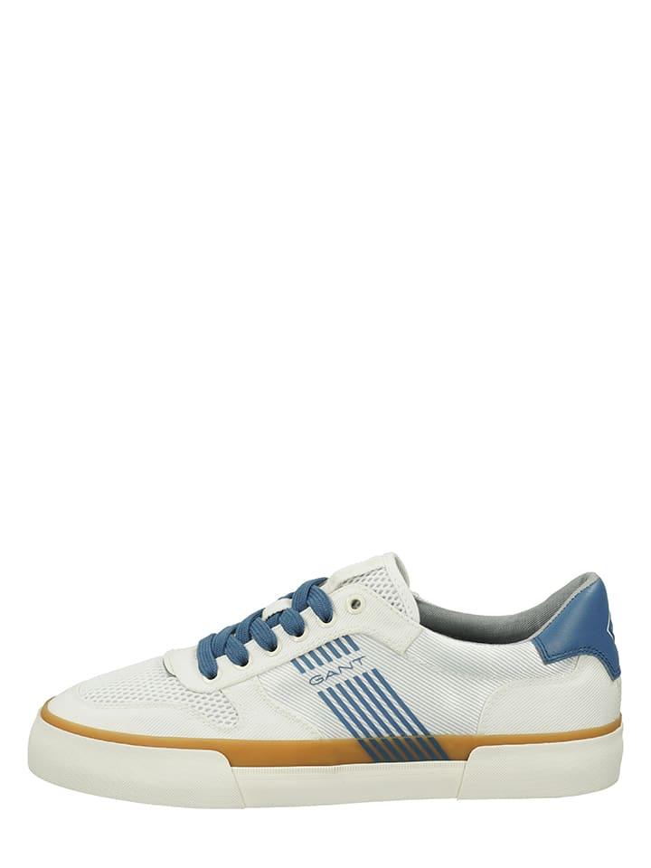 """GANT Footwear Sneakers """"Faircourt"""" crème/blauw"""