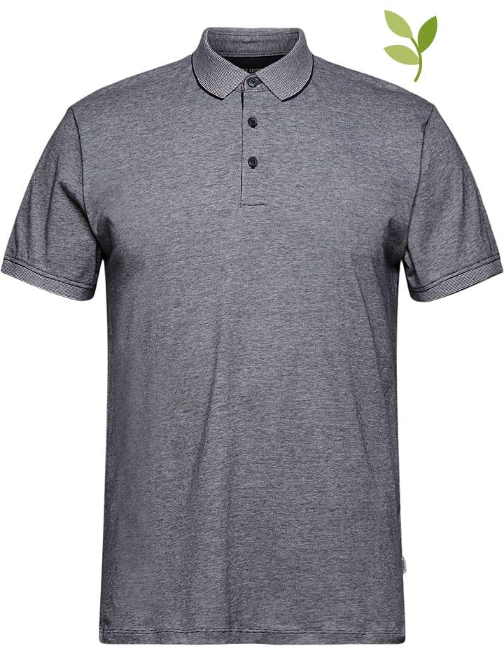 ESPRIT Koszulka polo w kolorze granatowym