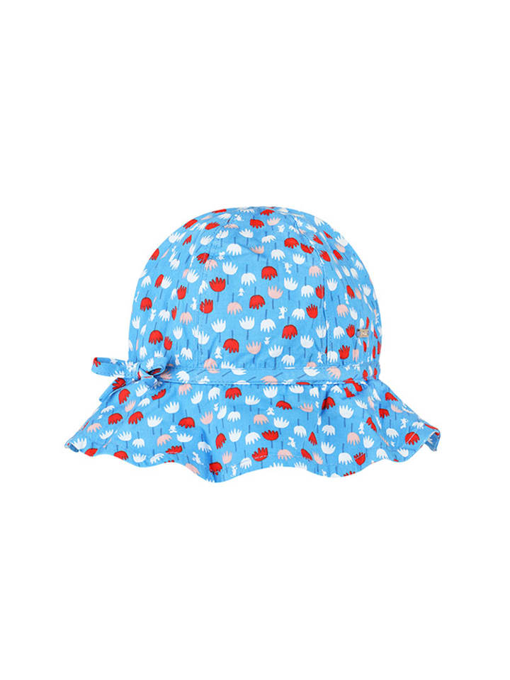 Moomin Kapelusz w kolorze niebieskim ze wzorem