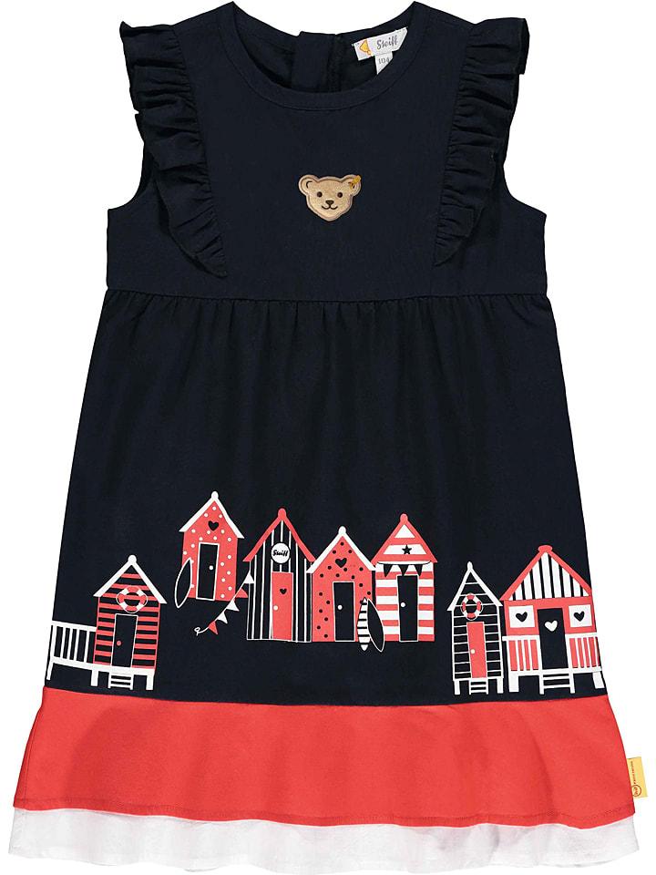 Steiff Sukienka w kolorze granatowym