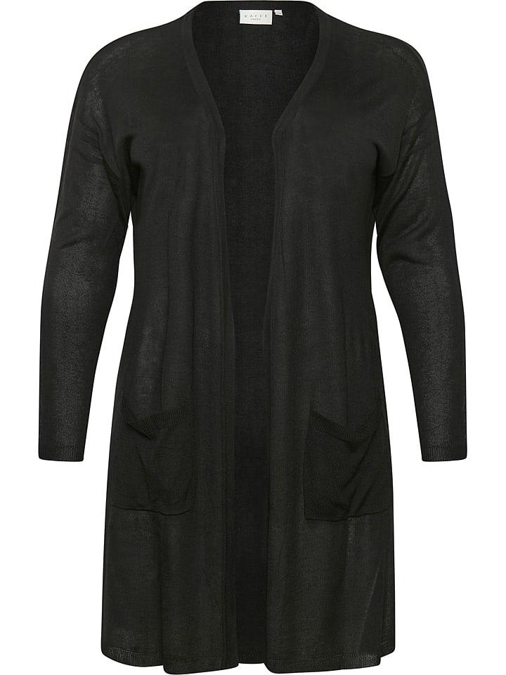 """KAFFE curve Vest """"Sandy"""" zwart"""