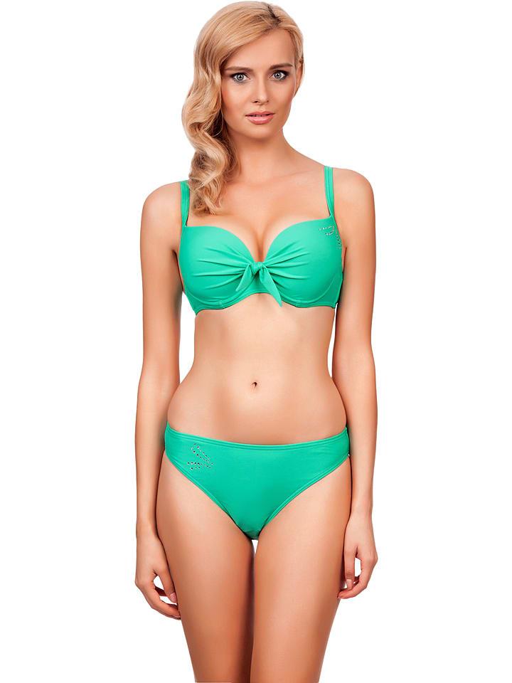 Lorin Bikini w kolorze turkusowym