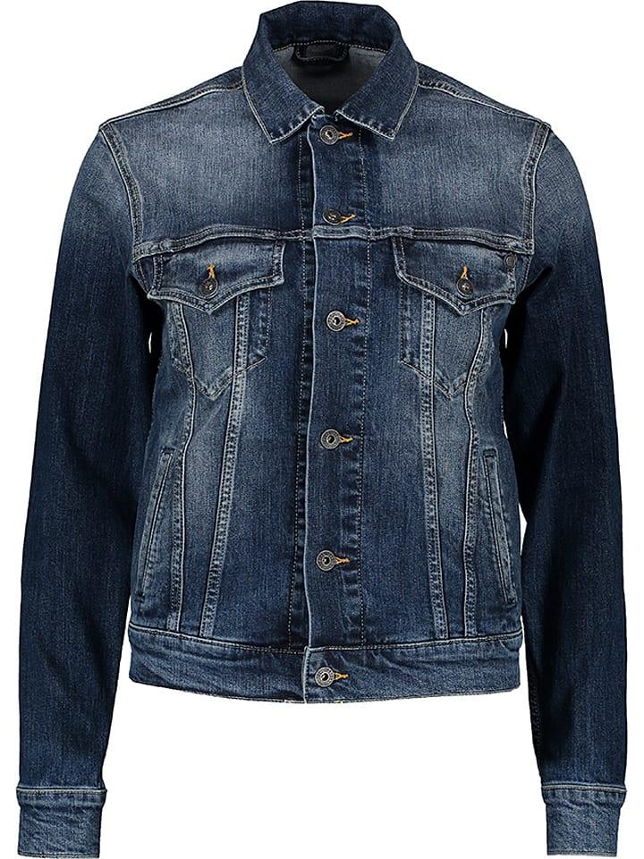 Pepe Jeans Kurtka dżinsowa w kolorze granatowym