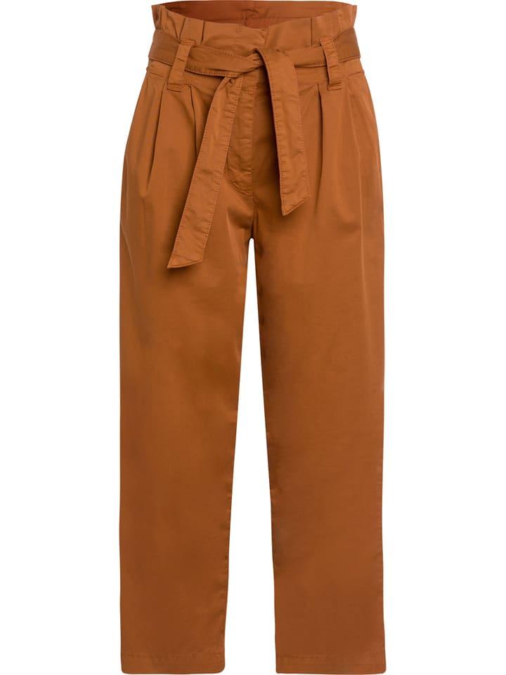 Marc Aurel Spijkerbroek oranje
