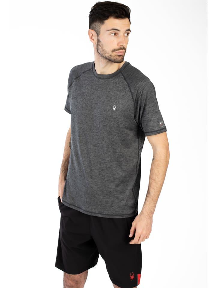 SPYDER Trainingsshirt zwart