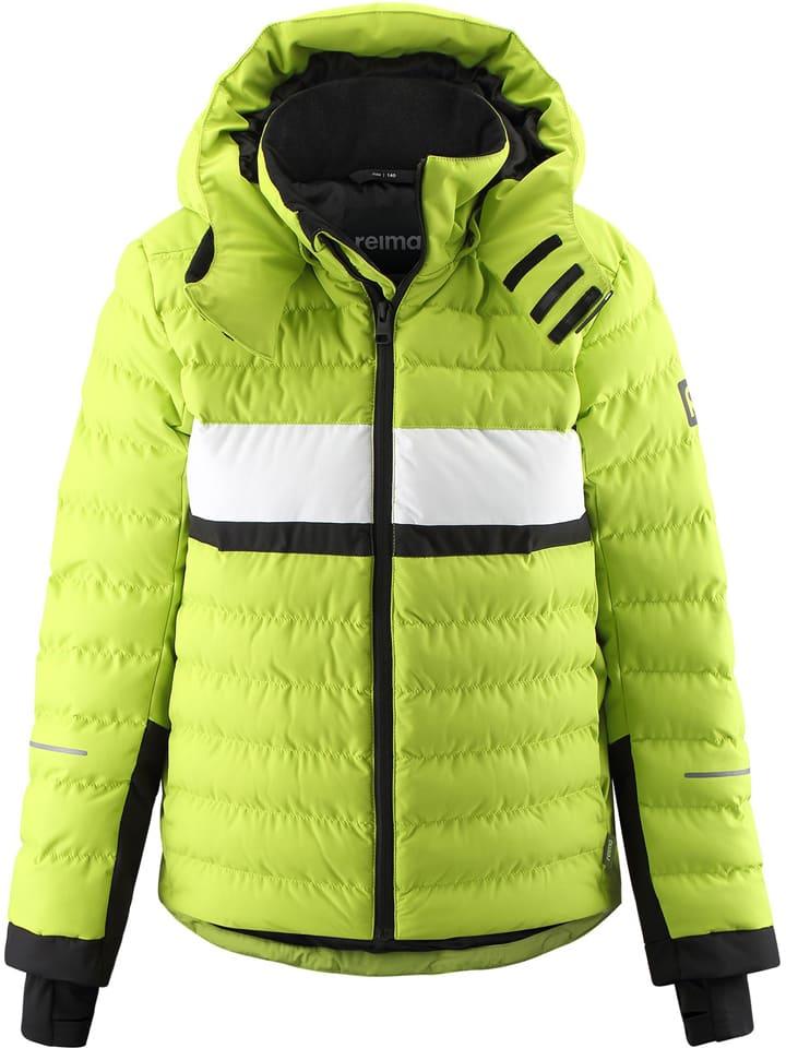 """Reima Kurtka narciarska """"Alkhornet"""" w kolorze zielonym"""