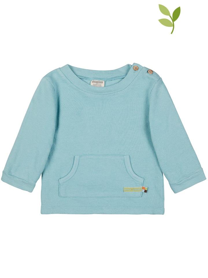 Loud + proud Sweatshirt in Hellblau