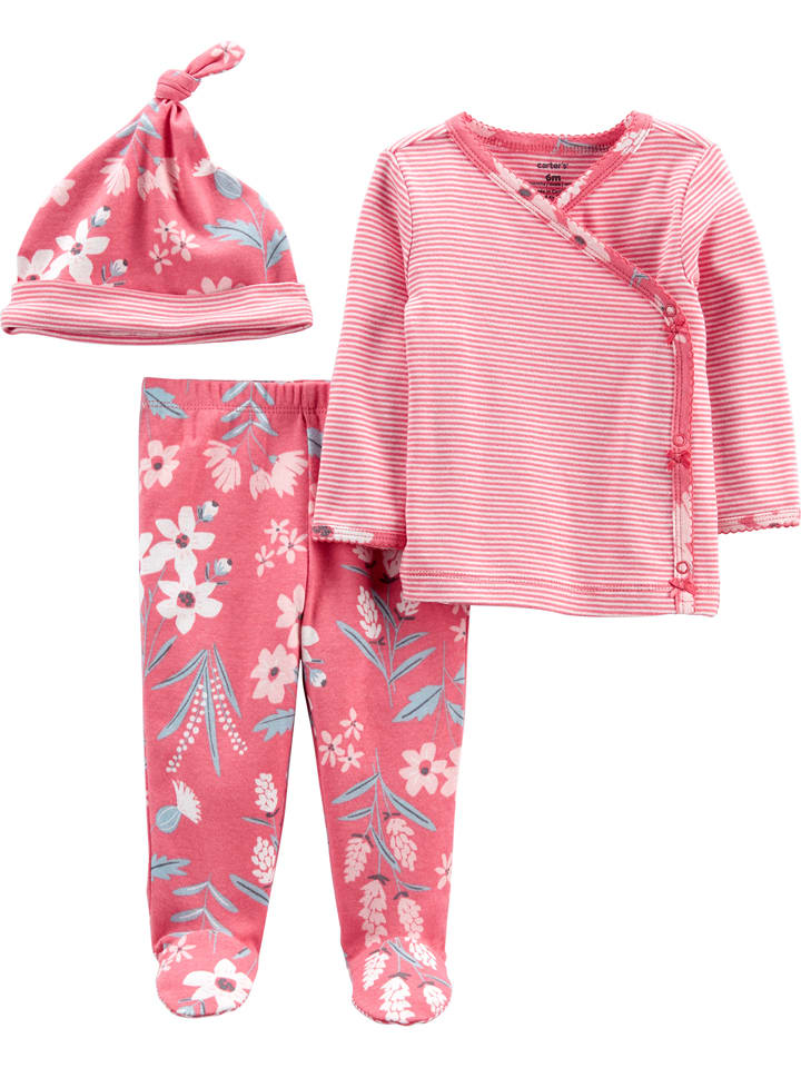 3tlg. Outfit in Pink