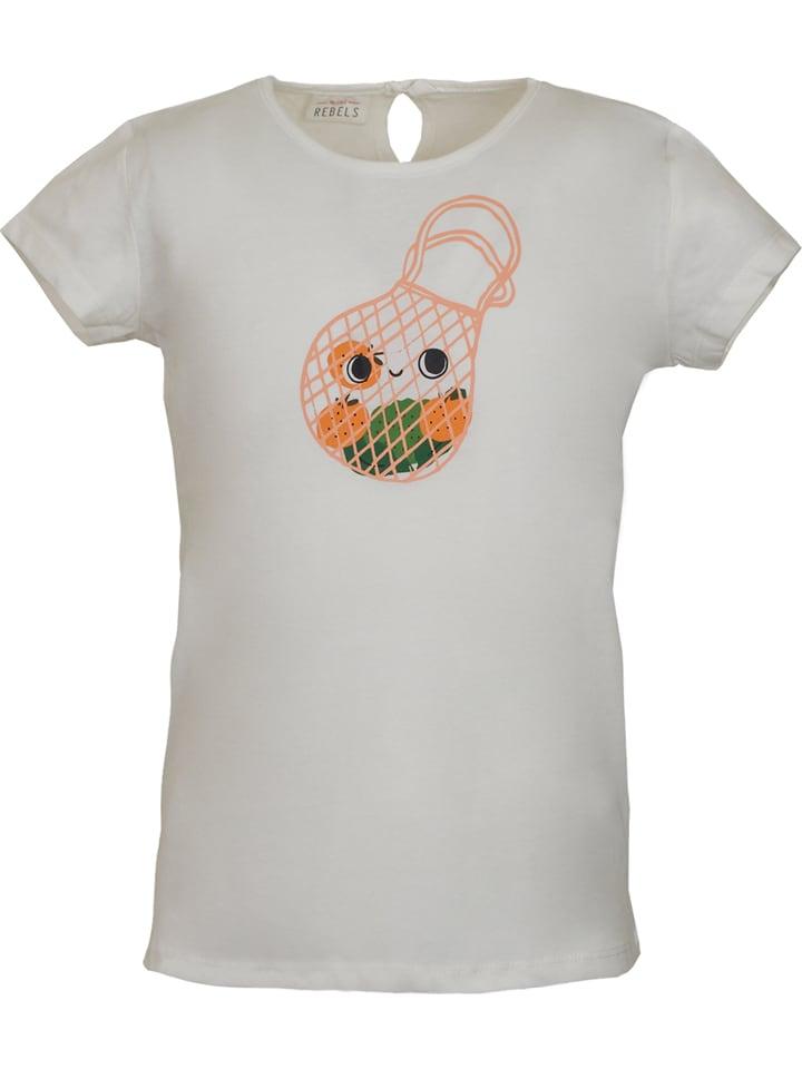 Mini Rebels Koszulka w kolorze kremowym