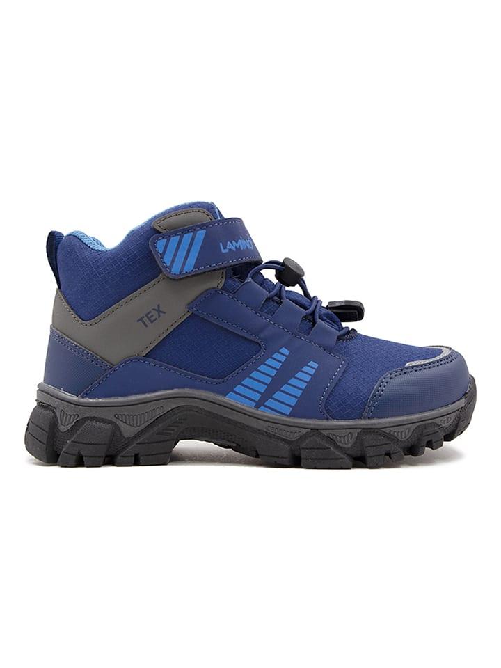 Boots in Schwarz/ Grau