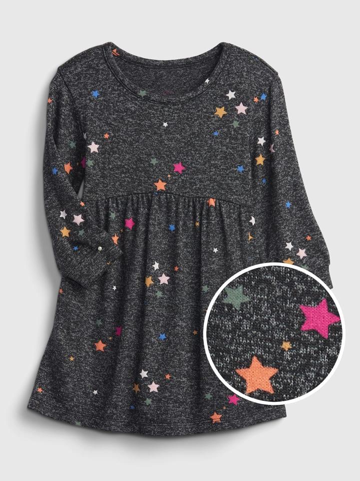 GAP Sukienka w kolorze antracytowym