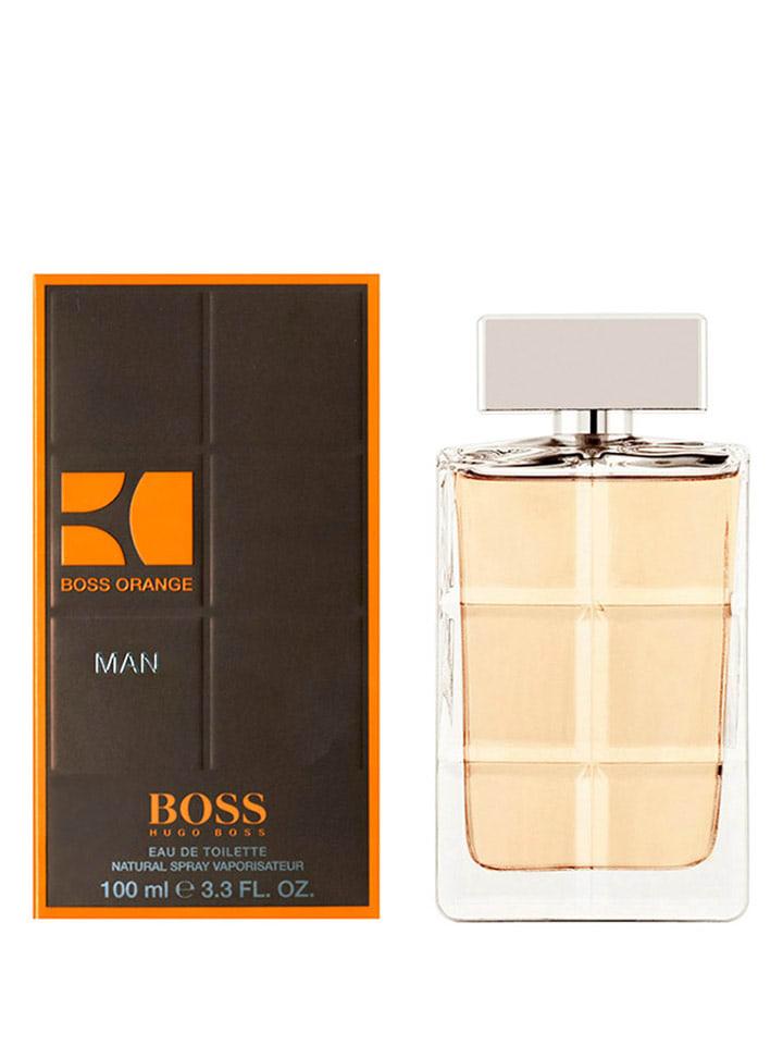 Boss sinaasappel Man - eau de toilette, 100 ml