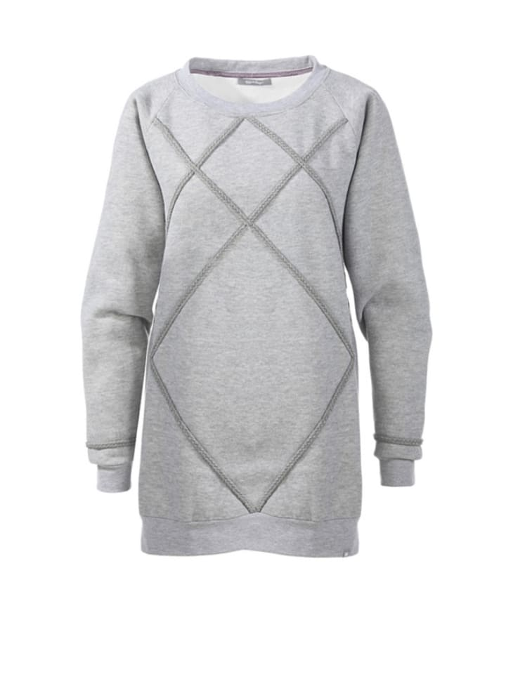 """Flip Flop Sweatshirt """"Sinan"""" in Grau"""