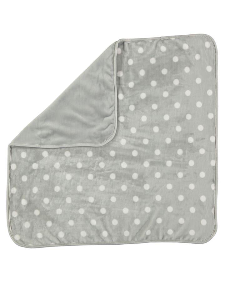 Pitter Patter Omkeerbare deken grijs - (B)75 x (L)75 cm
