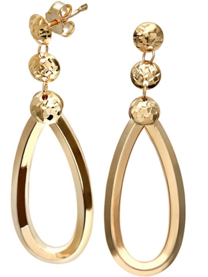 Diamant Exquis Złote kolczyki-wkrętki