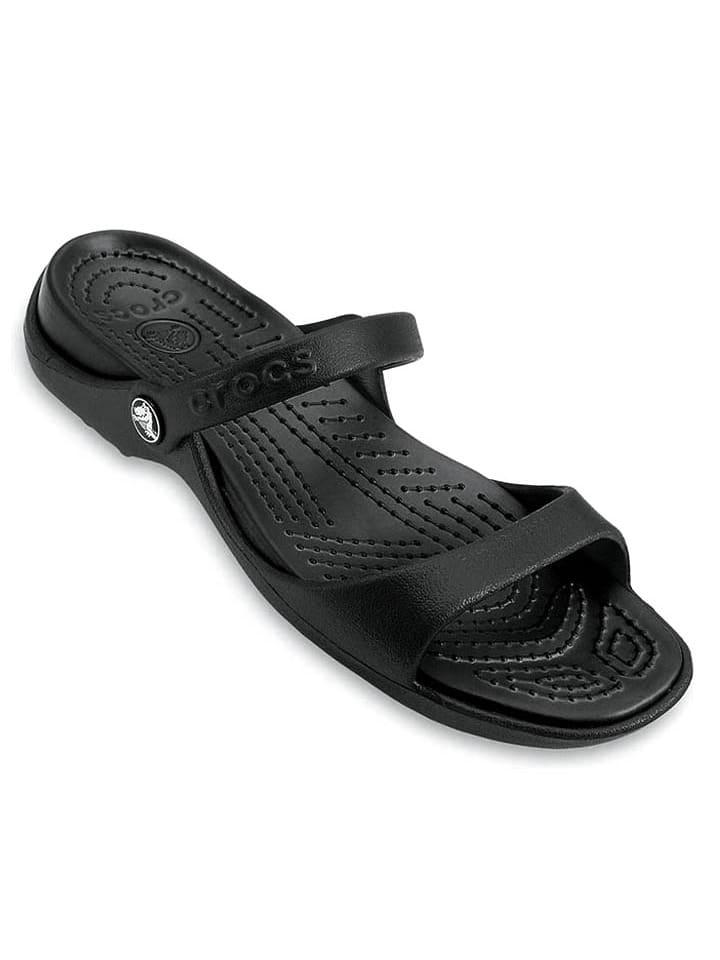 "Slippers ""Cleo"" zwart"