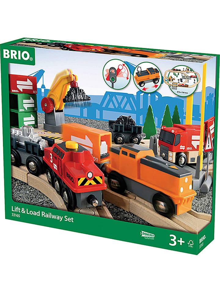 """Brio 75-delige spoorbaanset """"Cargo"""" - vanaf 3 jaar"""