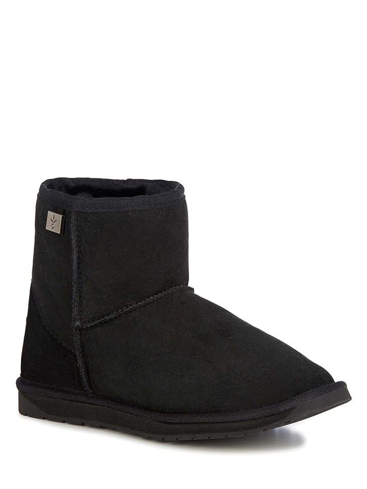 "EMU Leren winterboots ""Platinum Stinger Mini"" zwart"