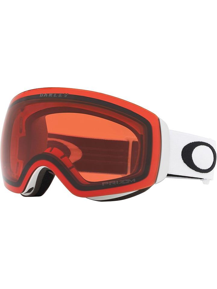 """Oakley Ski-/ Snowboardbrille """"Flight Deck XM"""" in Weiß/ Orange"""