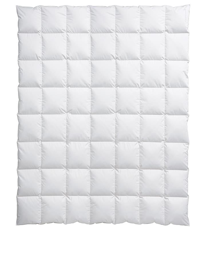 Centa-Star Zimowa kołdra puchowa w kolorze białym