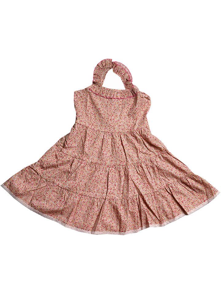 Deux ans de vacances Sukienka w kolorze jasnoróżowym