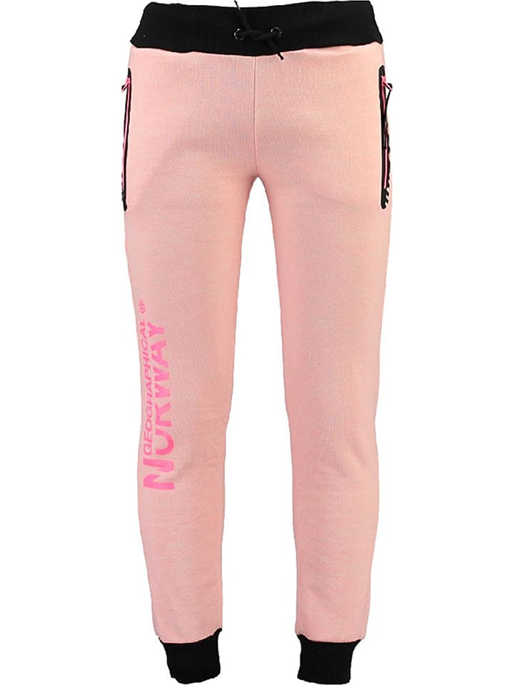 """Geographical Norway Sweathose """"Malipette"""" in Rosa"""
