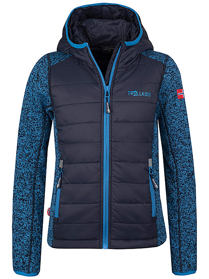 "Fleece vest ""Skabu"" donkerblauw"