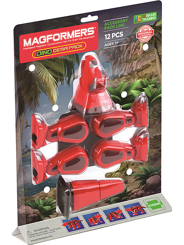 "MAGFORMERS 12-delige accessoireset ""Dino Cera Pack"" - vanaf 3 jaar"