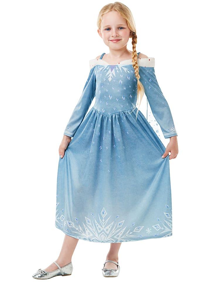 """Sukienka """"Elsa Frozen Adventures Classic"""" w kolorze błękitnym"""