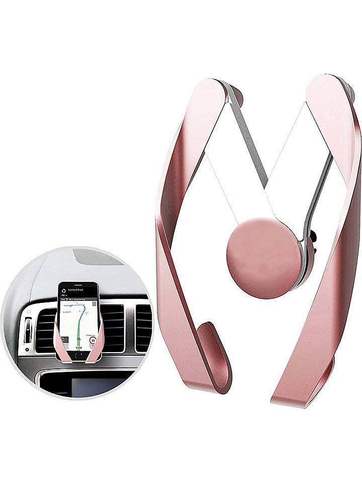 Kfz-Smartphone-Halterung in Roségold