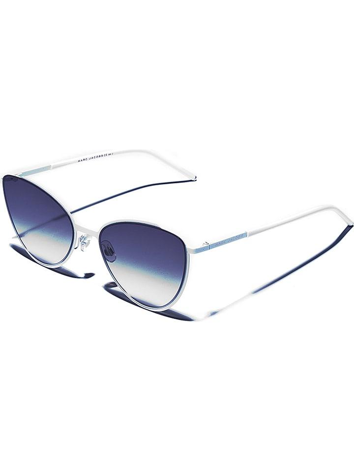 Marc Jacobs Damen-Sonnenbrille in Weiß/ Grau