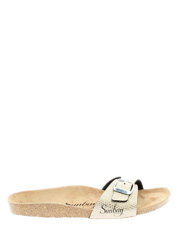 "Sunbay Slippers ""Jasmin"" taupe"