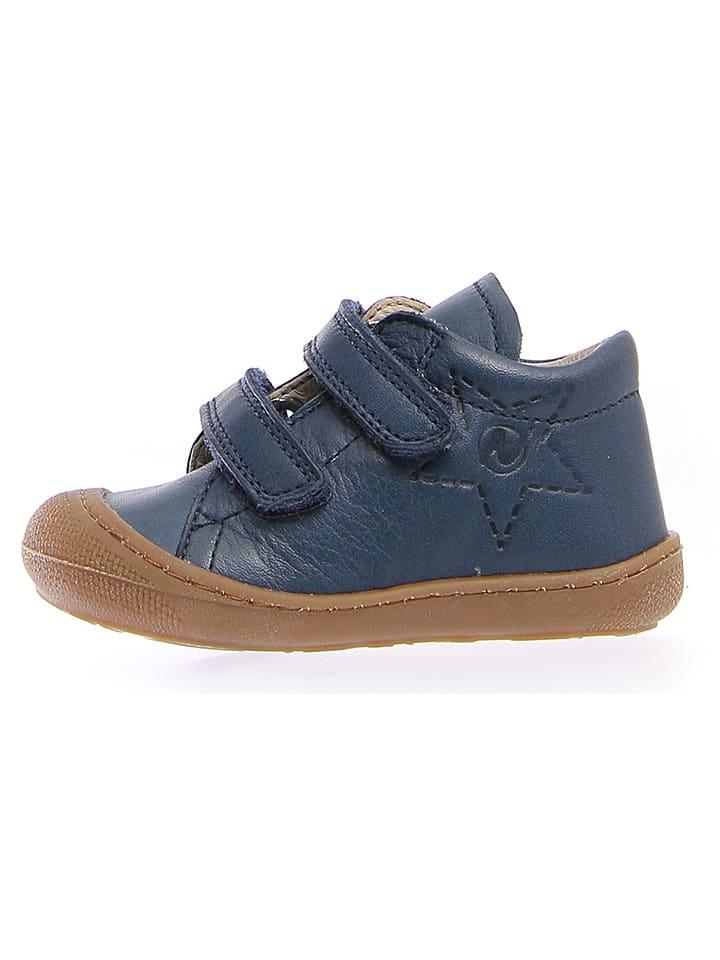 Naturino Leren enkelschoenen donkerblauw
