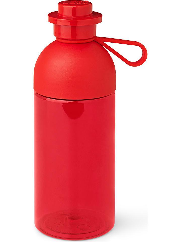 """LEGO Bidon """"Hydration"""" w kolorze czerwonym - 500 ml"""