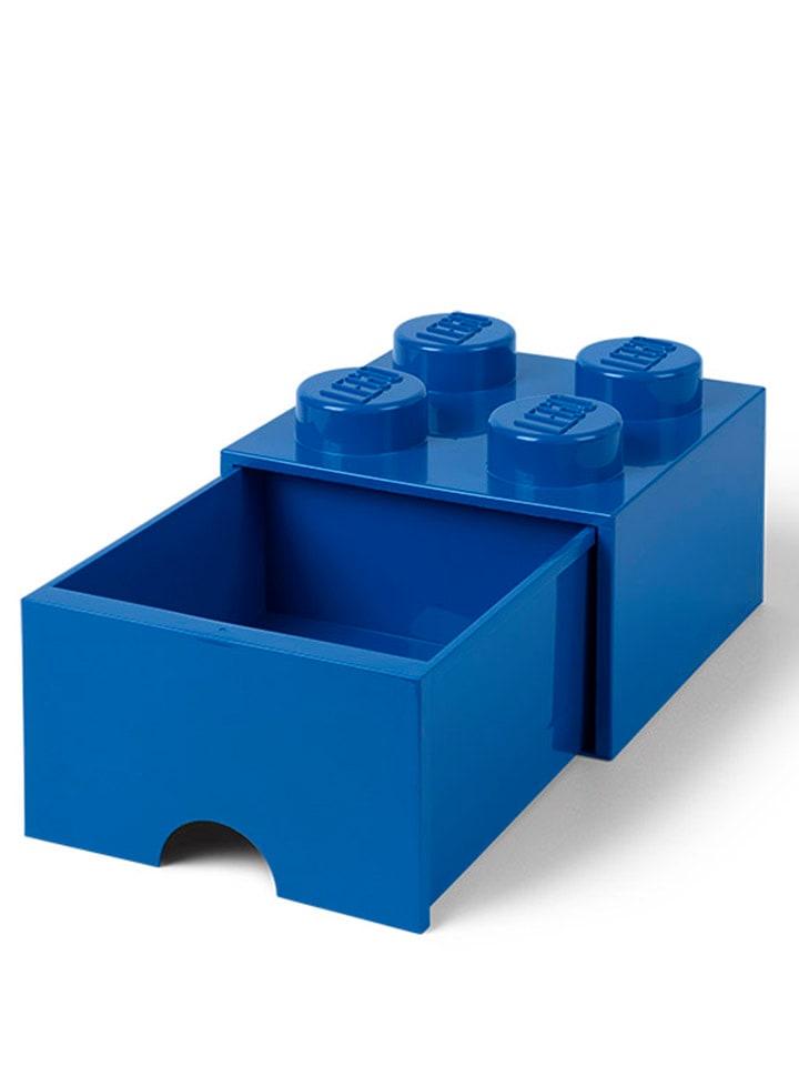 "Ladebox ""Brick 4"" donkerblauw - (B)25 x (H)18 x (D)25 cm"
